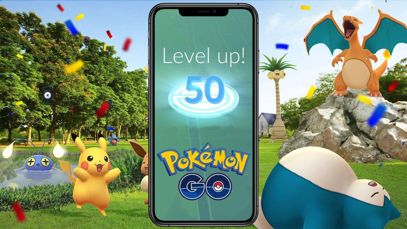 Premier niveau 50 sur Pokémon GO