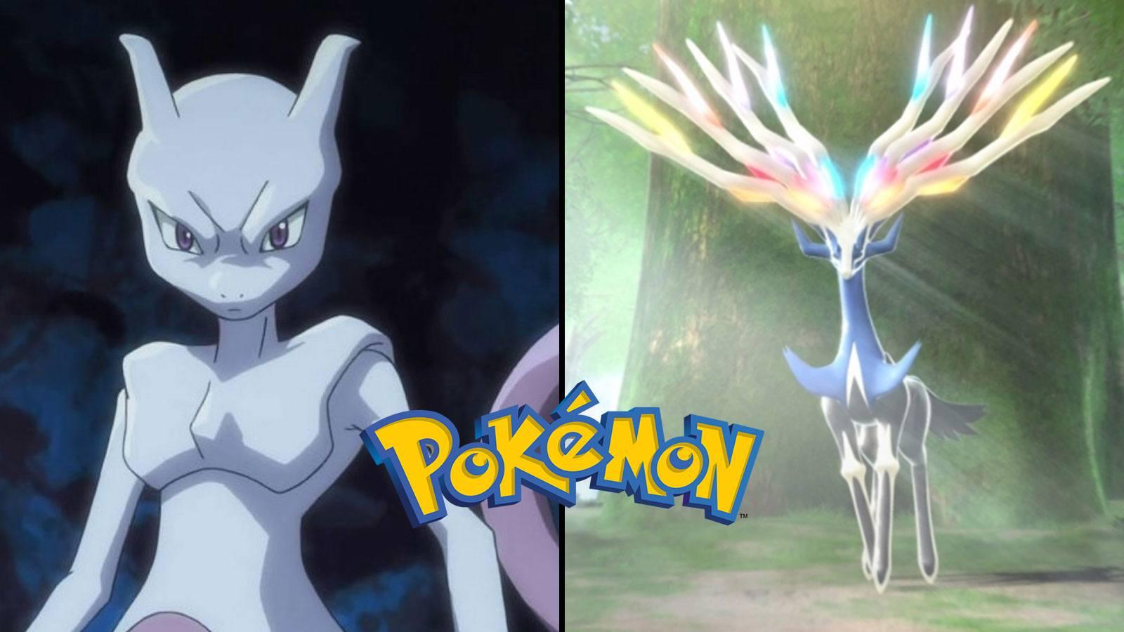 Les 10 meilleurs Pokémon légendaires de tous les temps Mewtwo Xerneas