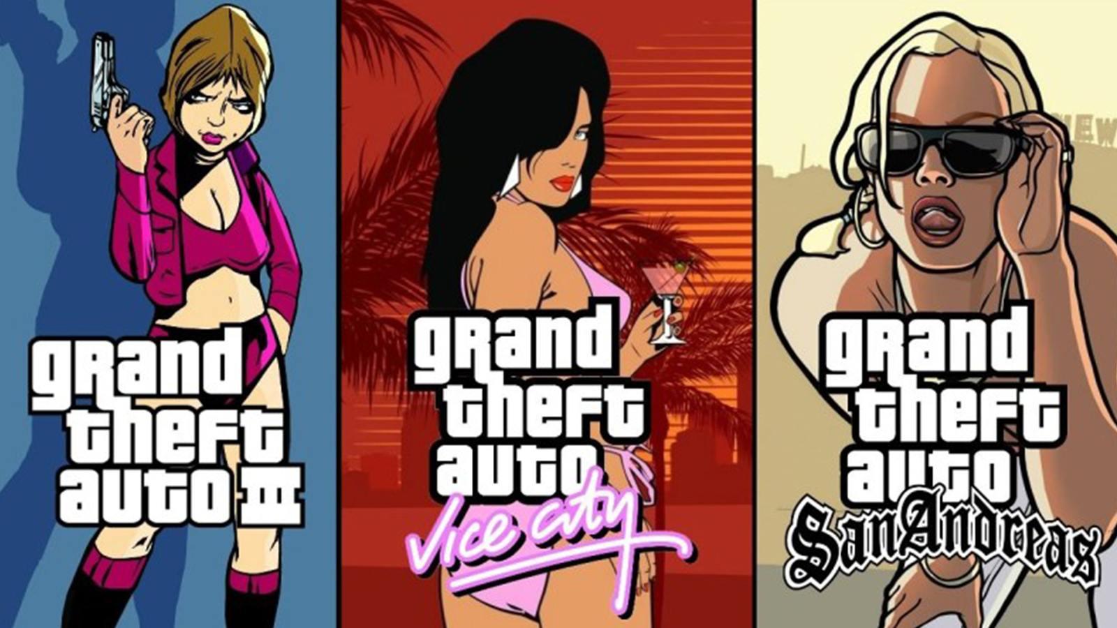GTA : The Trilogy remastérisé