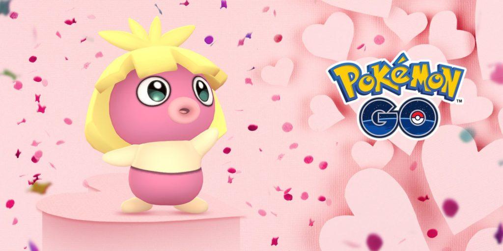 Les joueurs ne pourront utiliser que des Pokémon roses et rouges dans la Coupe Amour