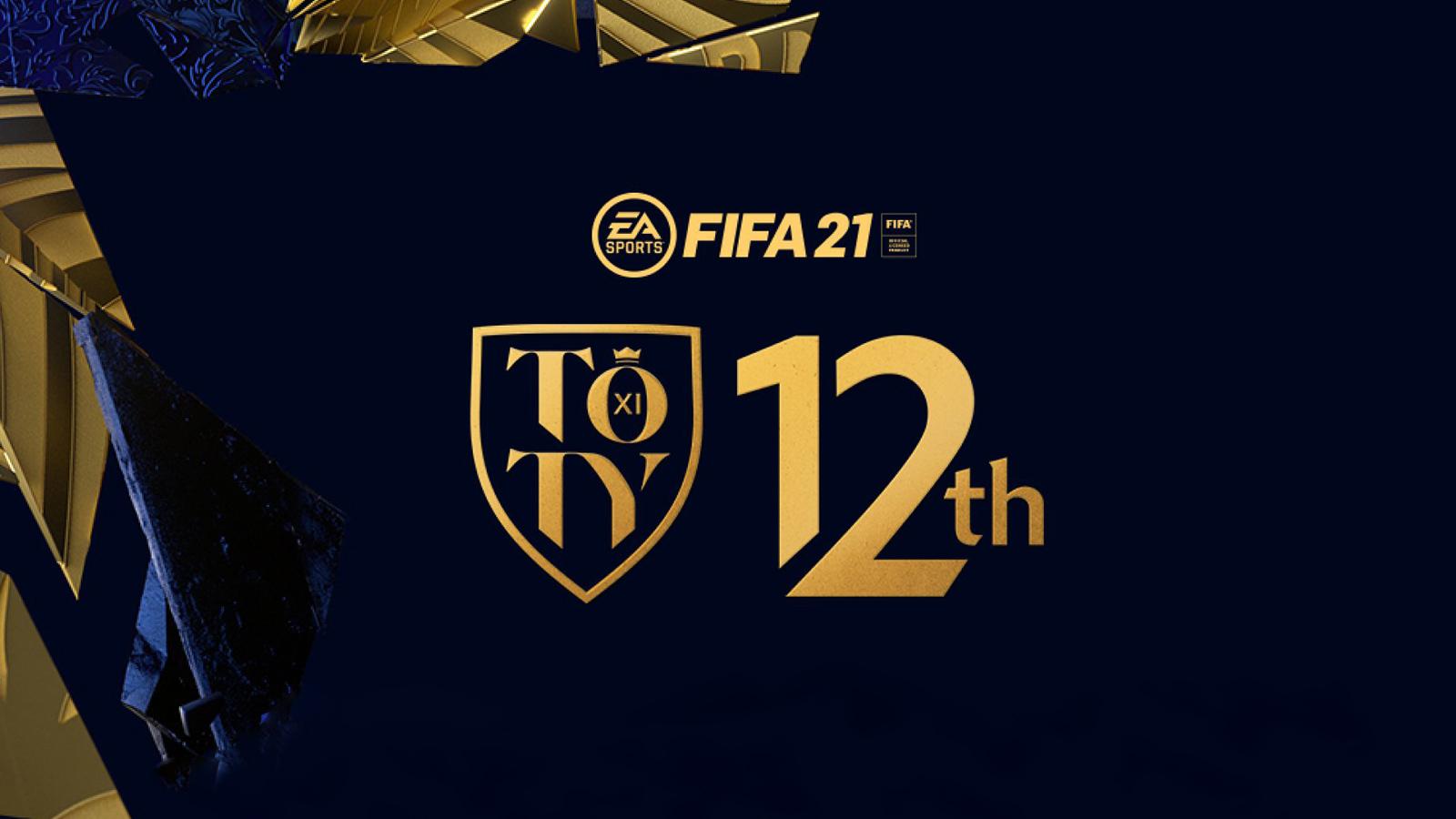 Vote 12e joueur TOTY FIFA 21