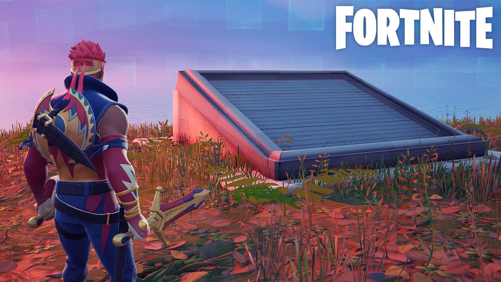 bunker caché Fortnite défi Saison 5 semaine 9 Epic Games
