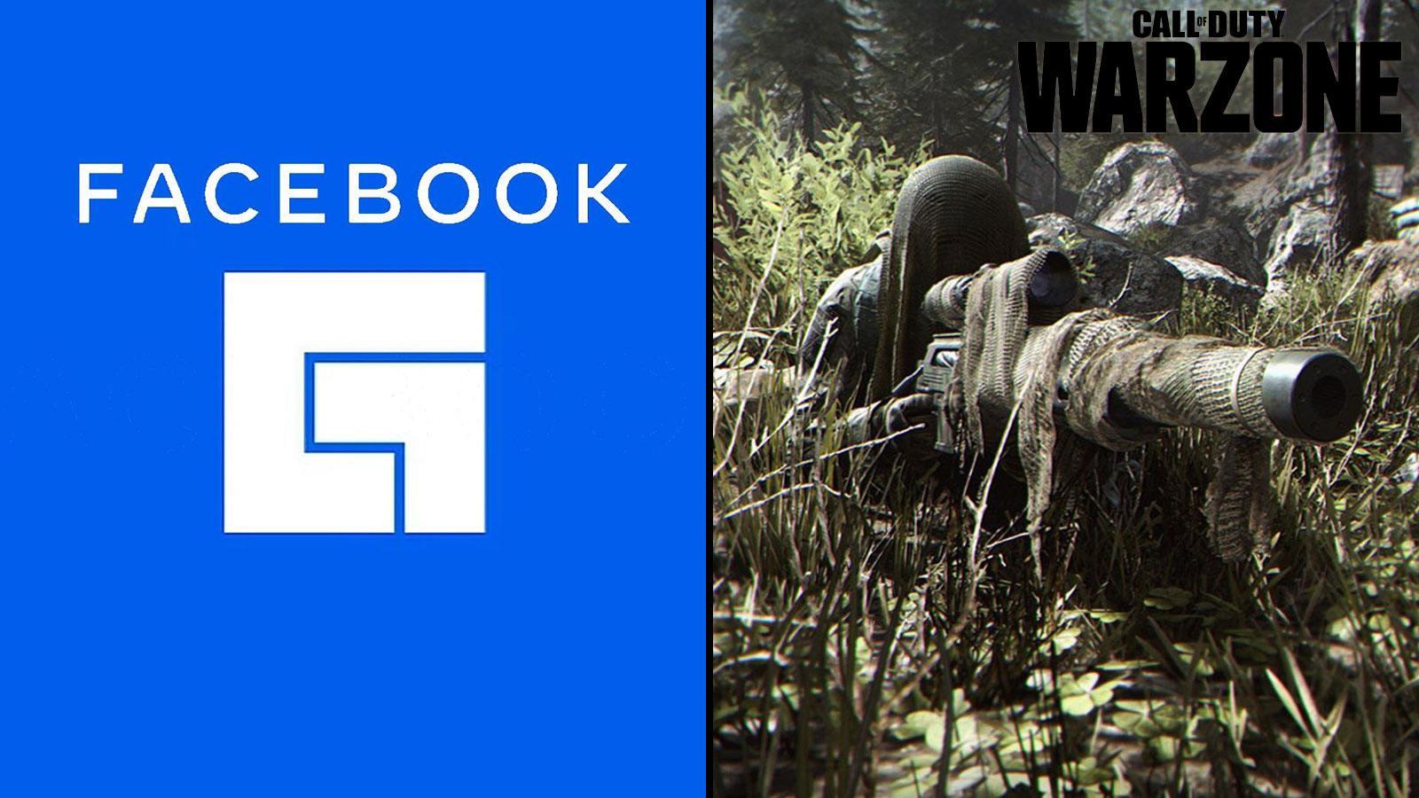 Facebook Gaming Warzone Activision