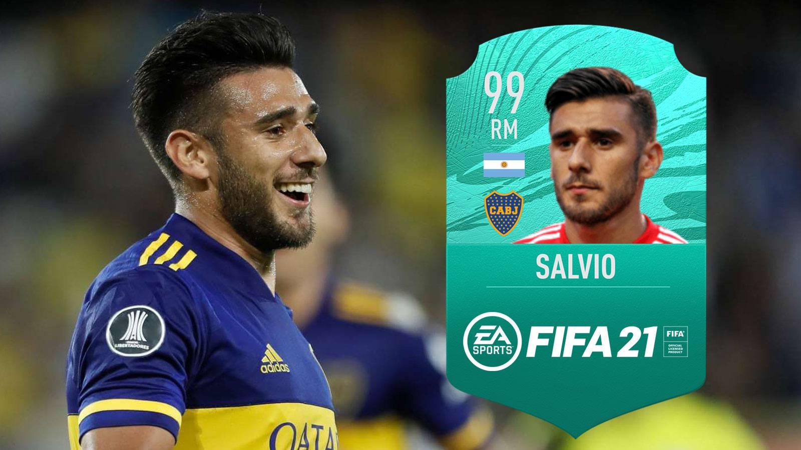 L'équipe FUT d'Eduardo Salvio