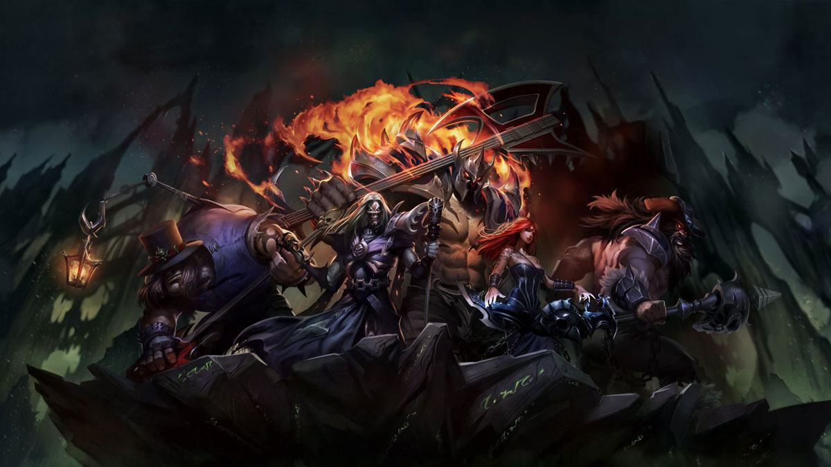 Musique League of Legends metal