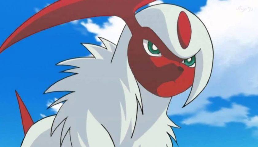 Absol Shiny dans Pokémon