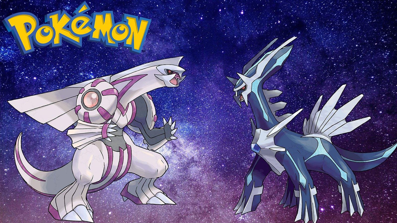 Pokémon Dialga Palkia