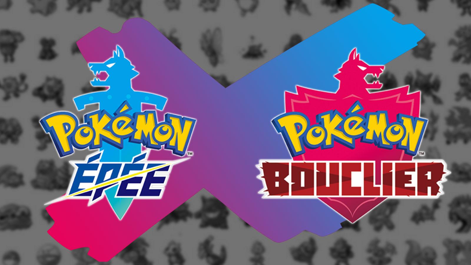 Pokémon manquants Pokédex Épée et Bouclier