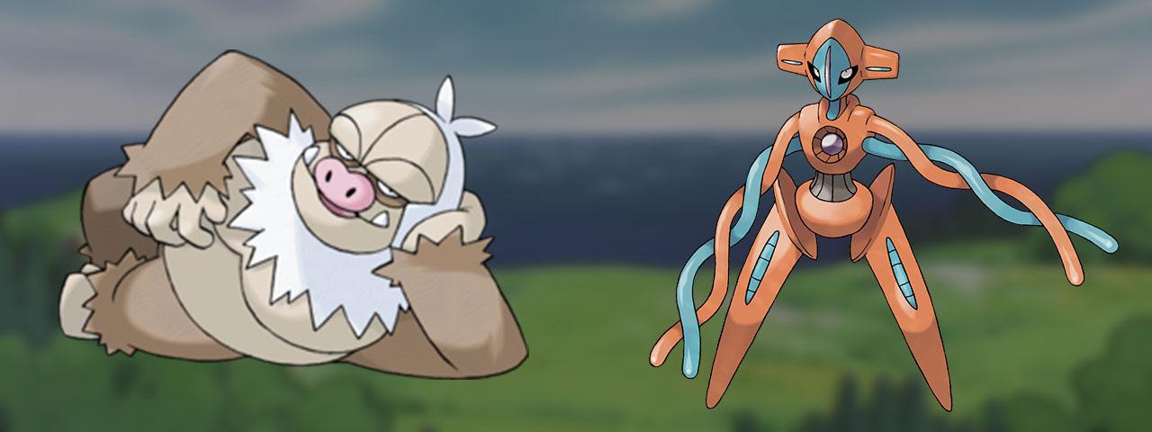 Pokémon de 3ème génération absents du Pokédex de Galar