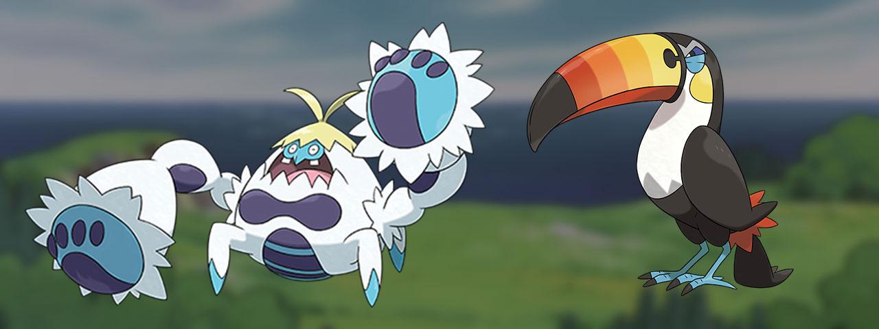 Pokémon de 7ème génération absents du Pokédex de Galar