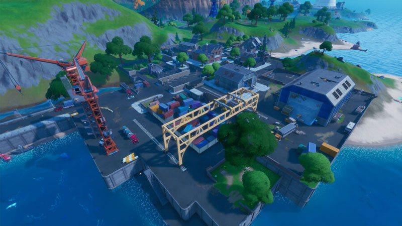 Dirty Docks dans Fortnite