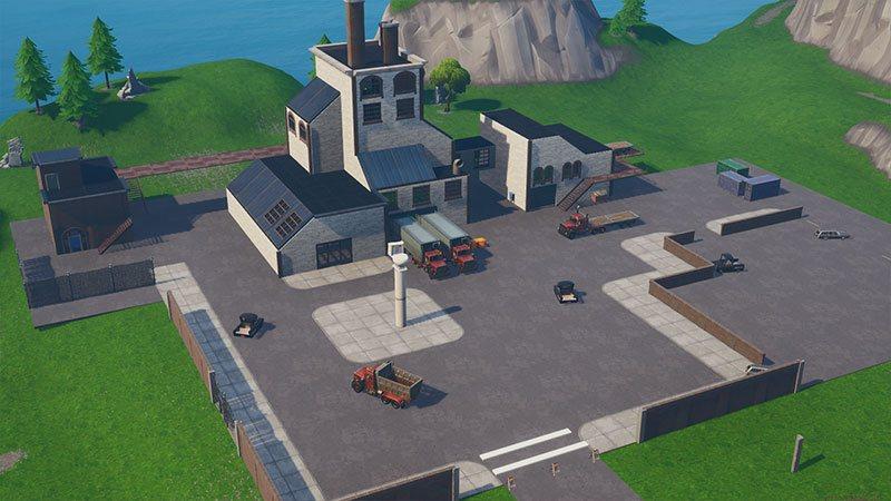 Flush Factory dans Fortnite