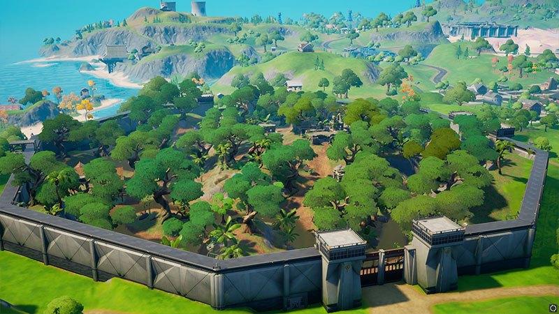 Stealthy Stronghold dans Fortnite