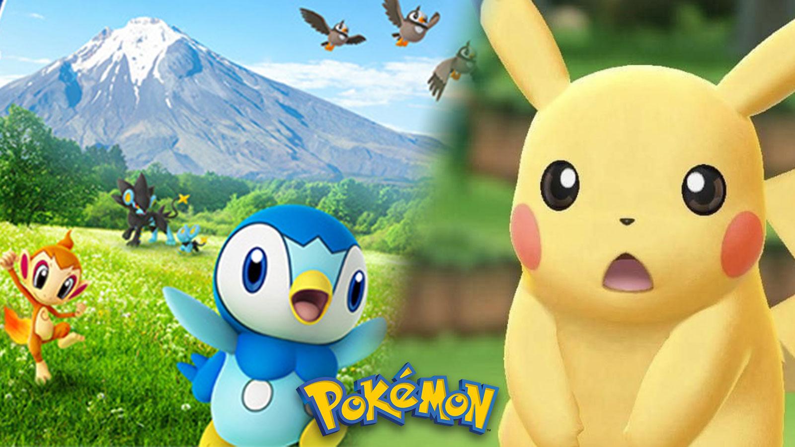 Un potentiel indice sur Pokémon Let's Go Sinnoh embrase la communauté