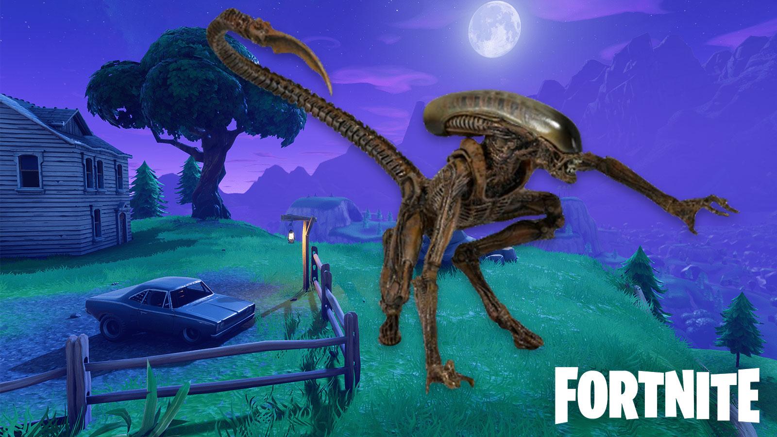 Un leak sur Fortnite semble confirmer l'arrivée d'Alien vs Predator