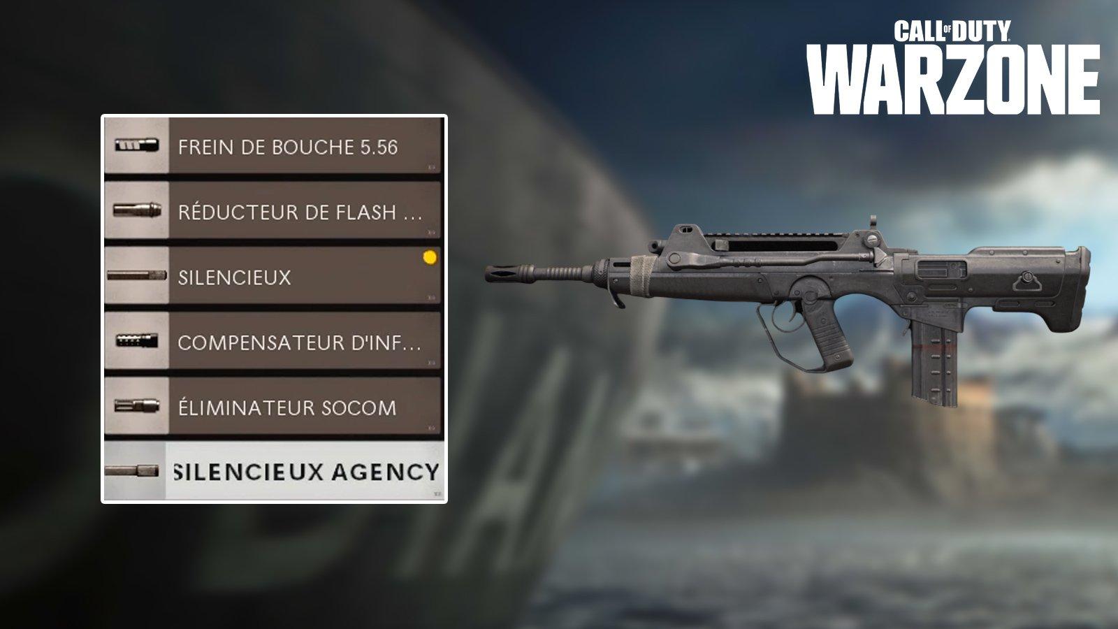 Nerf silencieux Black Ops Cold War sur Warzone