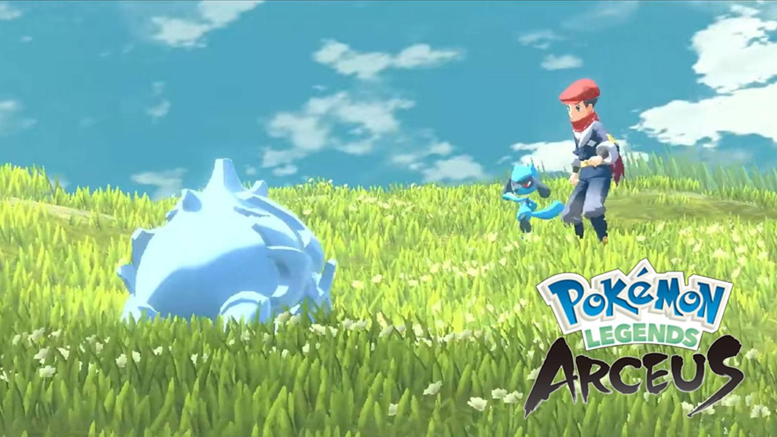 Présentation de Légendes Pokémon : Arceus