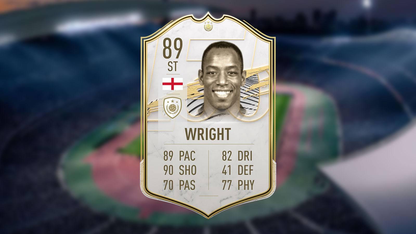 Ian Wright dans FIFA