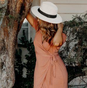 mode robe portfeuille