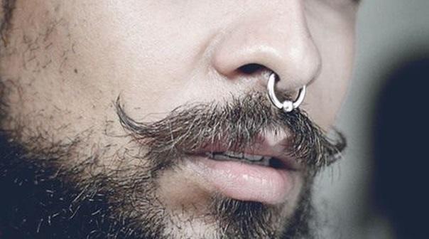 septum piercing homme