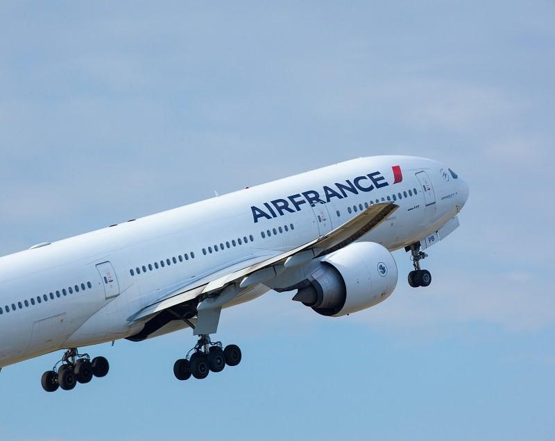 décolage avion air France