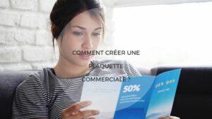 creation plaquette commercial