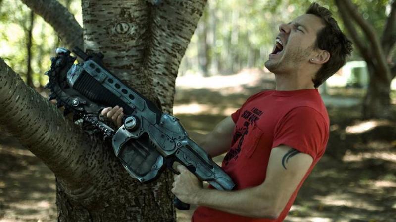 Cliff Bleszinski (Gears of War, Unreal Tournament) sur un