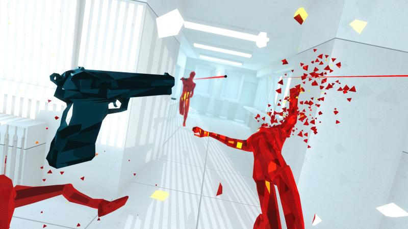 Superhot VR : teasing du support HTC Vive - 2