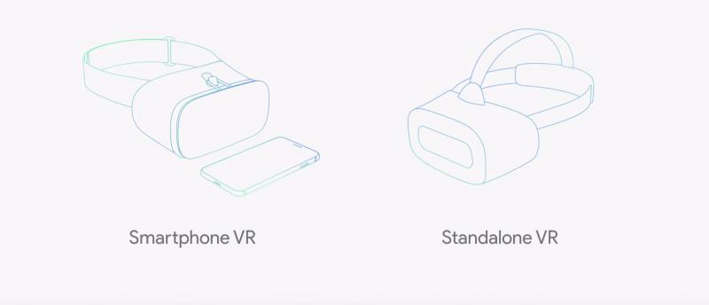 """Google compte enfin améliorer les expériences VR mobile en proposant des casques """"entièrement pensés pour la VR"""" avec du positionnal tracking"""