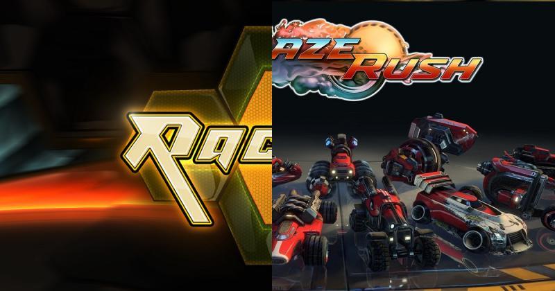BlazeRush et Racket : Nx gratuits ce week end - 2