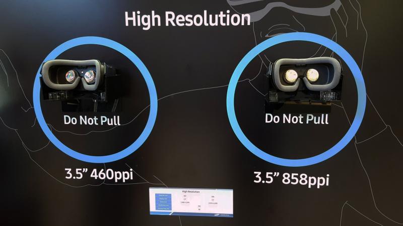 Détails et images des nouveaux écrans VR 858ppi HDR 120Hz OLED de Samsung + comparatif avec nos écrans VR actuels - 2