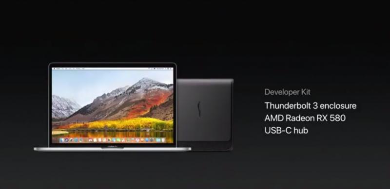Apple proposera un dock GPU externe permettant de rendre les anciens iMac et MacBook compatibles VR