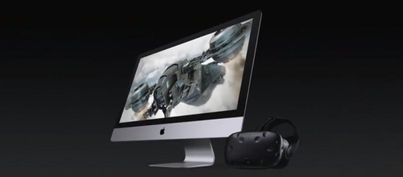 Apple rend les Mac compatible SteamVR / HTC Vive et présente le premier Mac VR Ready aux performances monstrueuses - 2