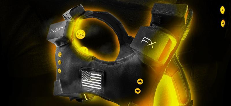 Test - Veste haptique KOR-FX : des vibrations bon marché pour renforcer l'immersion - 22