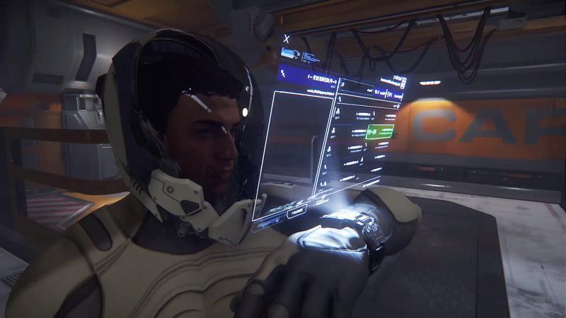 On reparle de la compatibilité VR dans Star Citizen avec une interface utilisateur pensée pour la réalité virtuelle - 2