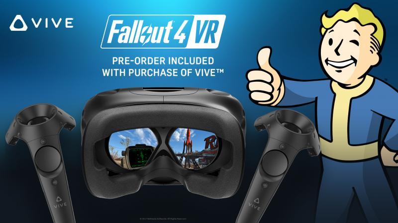 Fallout 4 VR offert pour tout HTC Vive acheté - 2