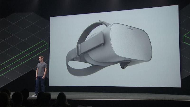 Oculus dévoile l'Oculus Go, un Oculus Rift autonome à 199$ - 2