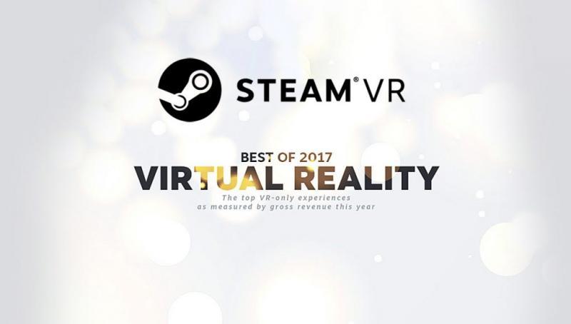 SteamVR 2017 : L'Oculus Rift le casque le plus populaire en décembre, Fallout 4 VR le jeu le plus rentable de tous les temps - 2
