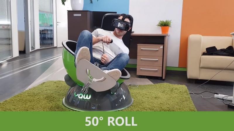 Yaw VR, un simulateur 3DOF compact et léger à 1200$ - 2