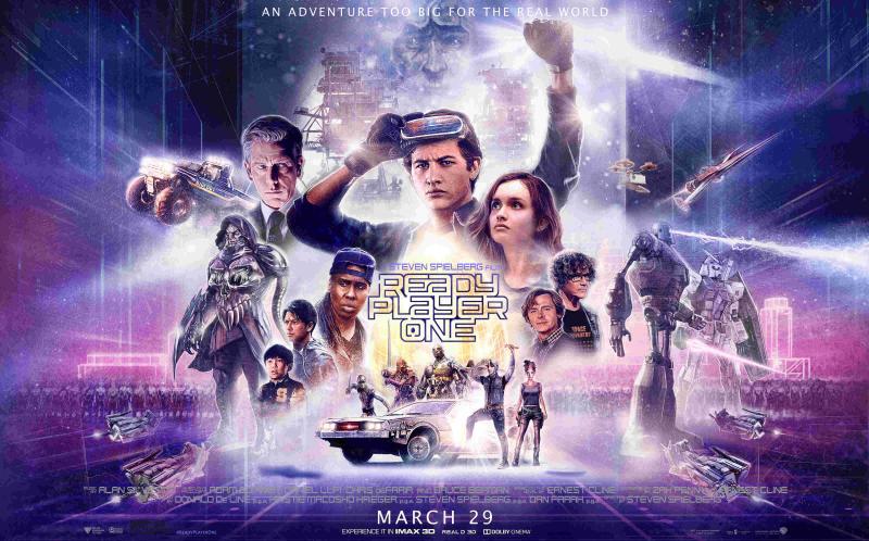 Critique - Ready Player One : Un triple A de la VR mais au cinéma  - 2