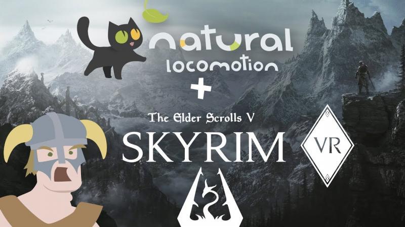Natural Locomotion, un mode de déplacement naturel compatible avec Skyrim VR, Fallout 4 VR, Rec Room VR... - 2