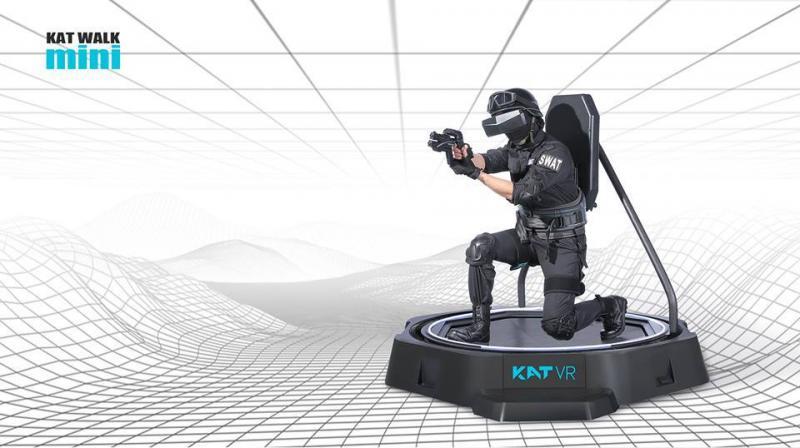 KAT VR présente le KAT Walk Mini, un modèle réduit de sa solution de déplacement omnidirectionnel - 2