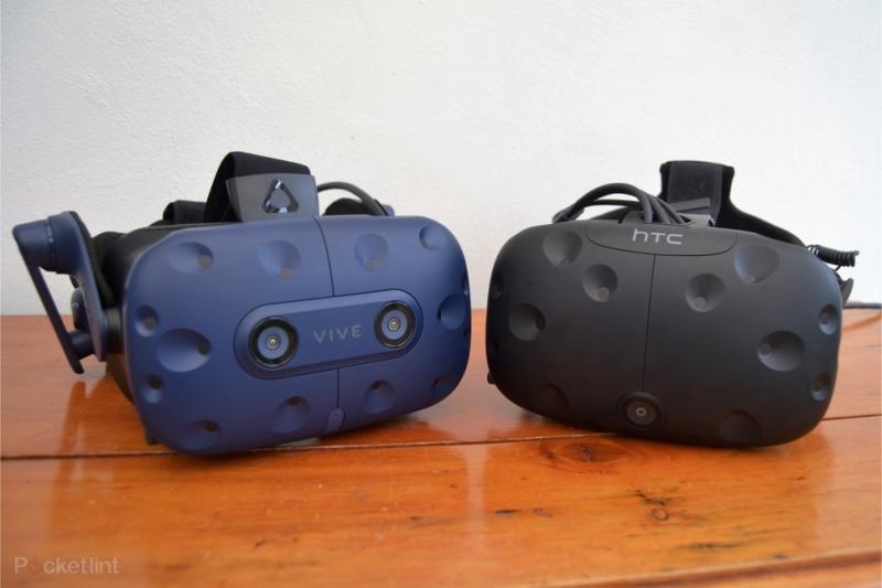 Comparatif en image entre le HTC Vive et HTC Vive Pro - 2