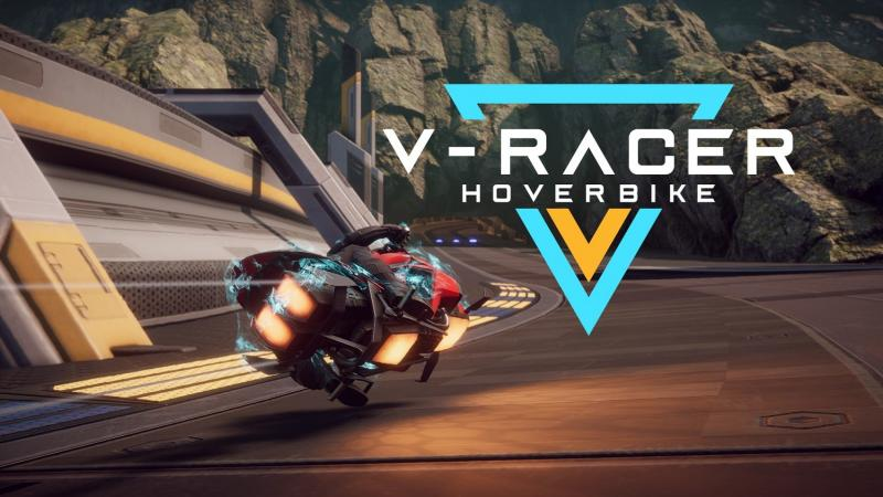 Preview - V-Racer Hoverbike : Wipeout VR en deux roues ! + Clé Steam offerte - 2