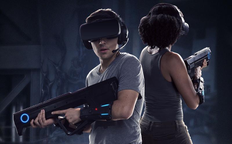 Une nouvelle attraction permet à 4 joueurs d'affronter des Aliens en réalité virtuelle ! - 6