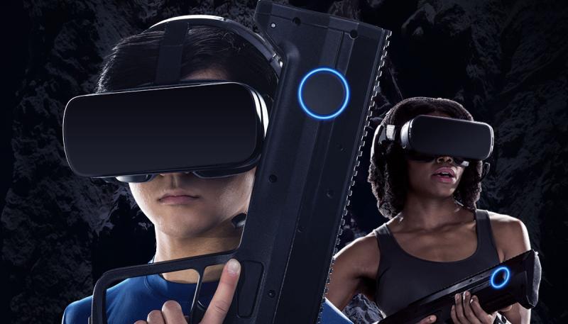 Une nouvelle attraction permet à 4 joueurs d'affronter des Aliens en réalité virtuelle ! - 8