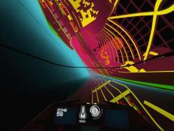 Le mode Zone et ses visuels flashy, de quoi nous rappeler les heures glorieuses du disco