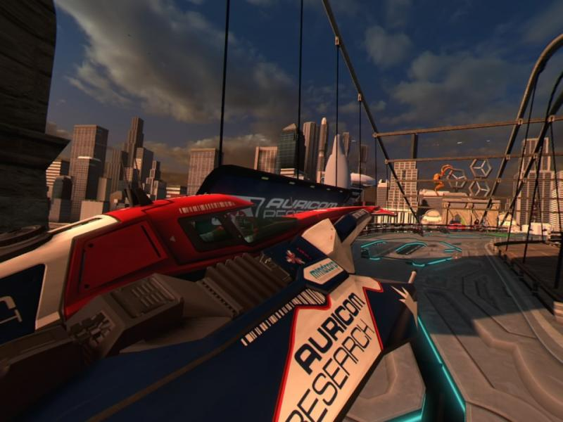 Test - WipEout Omega Collection VR : La licence supersonique débarque en réalité virtuelle - 19