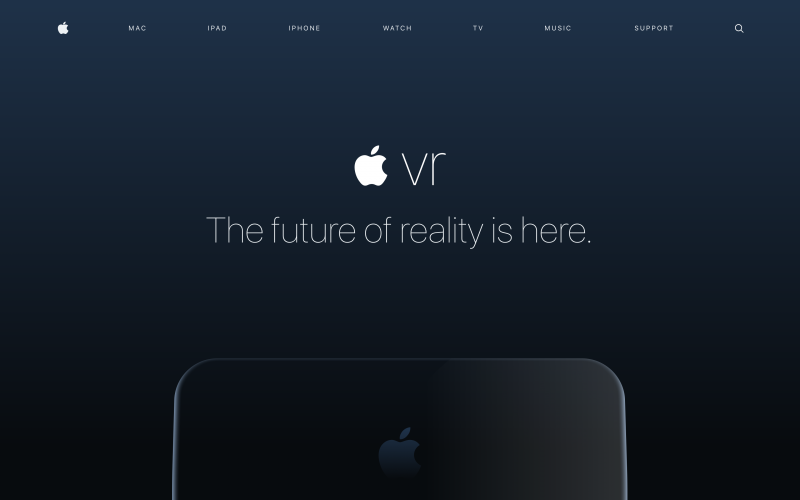 Apple développerait en secret le T288, un casque VR et AR 8K par oeil pour 2020 - 2