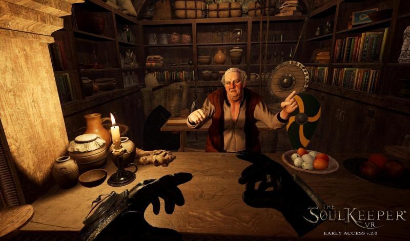 The Soulkeeper VR : Changements majeurs pour le RPG VR en version 2.0, nouveaux screenshots - 2
